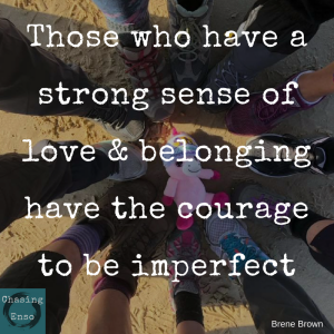 belonging quote brene brown